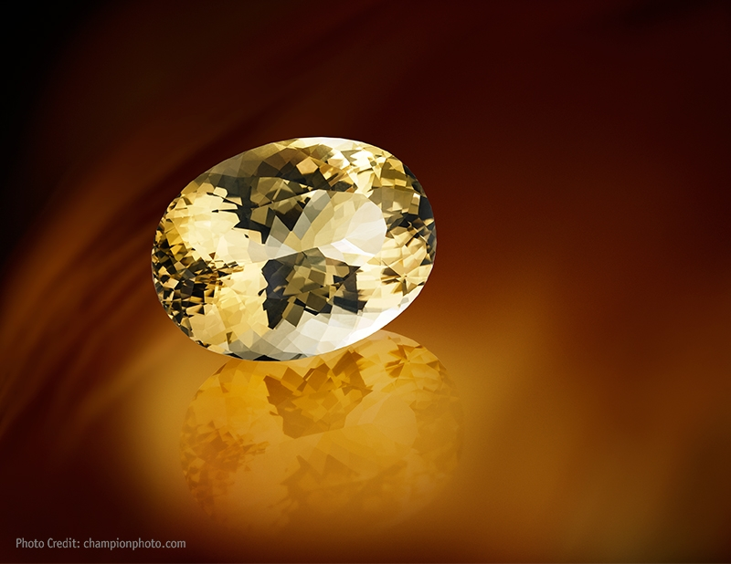 Wobito Cut Citrine from Brazil