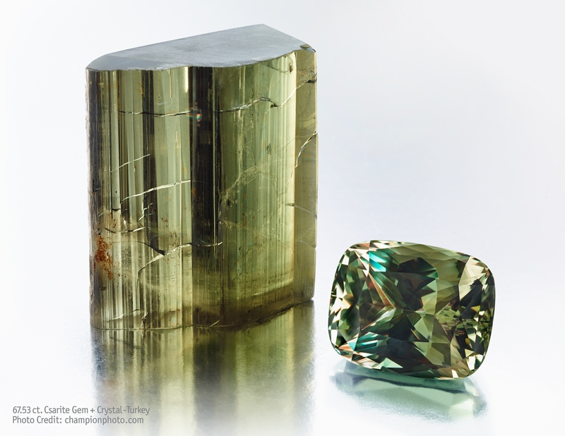 67.53 ct Csarite Gem and Crystal